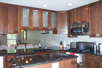 Chicago Kitchen Remodel including soffit and wall removal