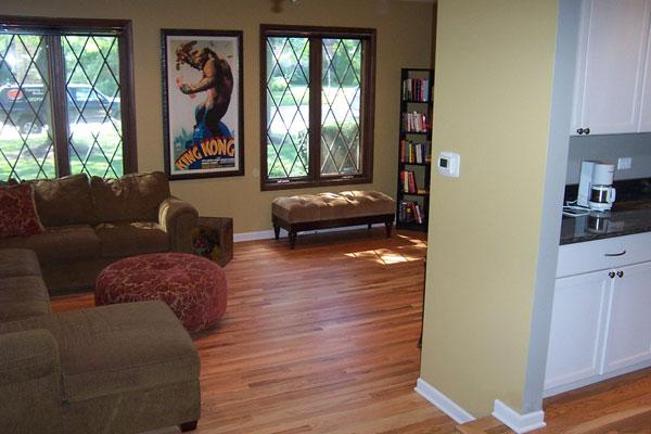 Total Kitchen Remodel - Hardwood Flooring and new trim