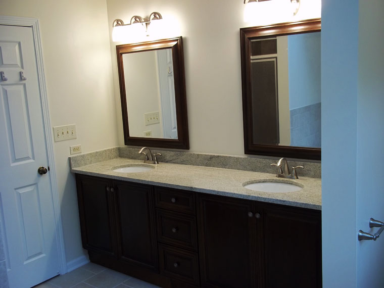 A complete bathroom remodel in West Dundee, IL
