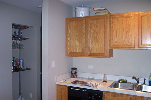 Chicago Kitchen - Before removal of the walls